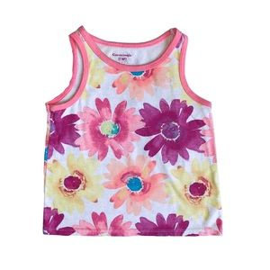 Garanimals Flower Print Tank Top 3T